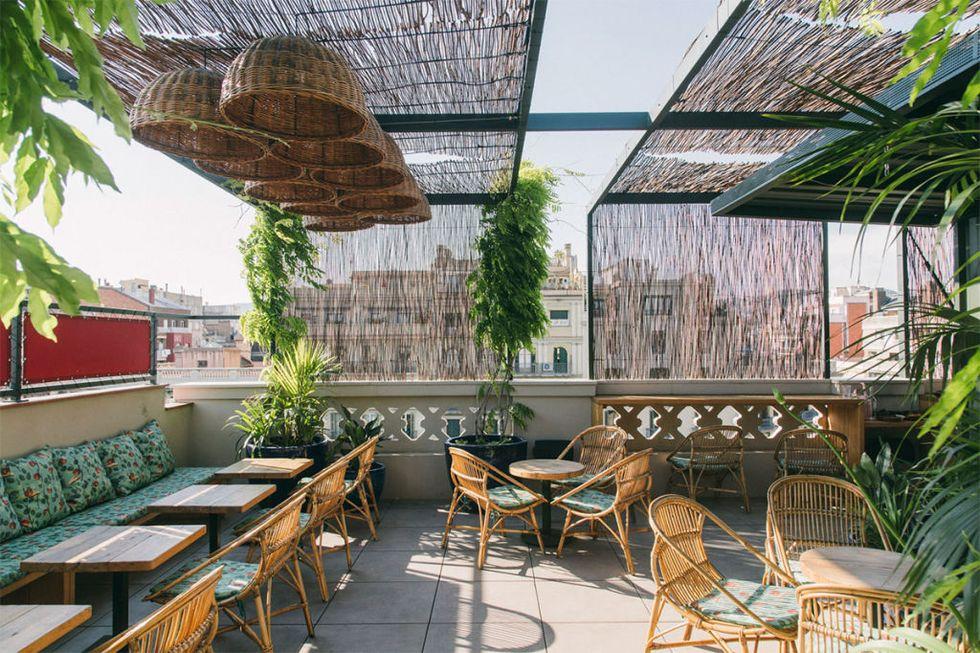 Ideas de decoración en terrazas para 2021